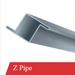 MS Z Pipe Available at Mehboob Steel Traders